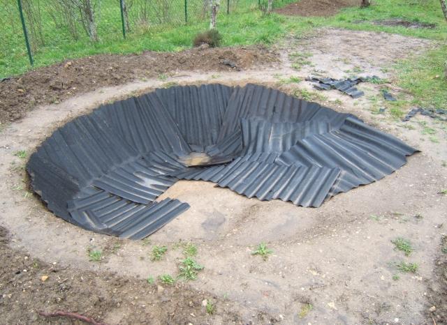 Le nouveau bassin fiches tortues aquatiques for Geotextile pour bassin